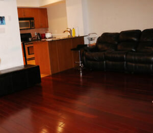 3 bed + 3 bath townhouse at King & Dufferin for lease