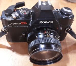 Classic Vintage Konica manual film camera
