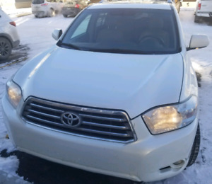2010 Toyota Highlander 4WD limited 7 seater