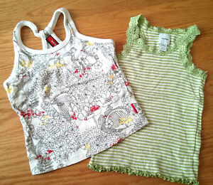 Camisole Baby Gap 3 ans + camisole MEXX 3-4 ans fille