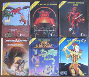 Buying: Dungeons & Dragons and other RPG collections