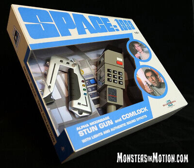Space 1999 Deluxe Electronic and Comlock Set w/ Lights & Sound US SELLER 189SI12