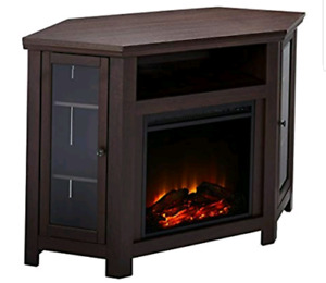NEW WALKER EDISON FIREPLACE CONSOLE