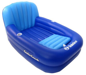 oversize inflatable couch with cooler