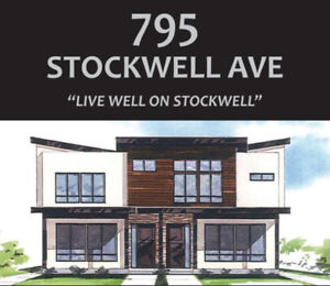 795 Stockwell Ave - 4 three bedroom units to choose from!