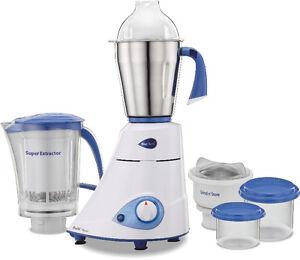 Blue Leaf Platinum Mixer Grinder Juice Extractor KALIGABAZAR.COM