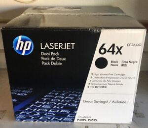 HP CC364XD Dual Pack LaserJet Toner