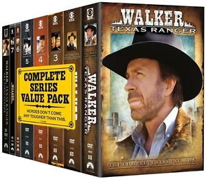 want to buy complete series walker texas ranger or 4 to 8