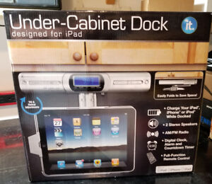 New in box -Under counter Ipad Holder