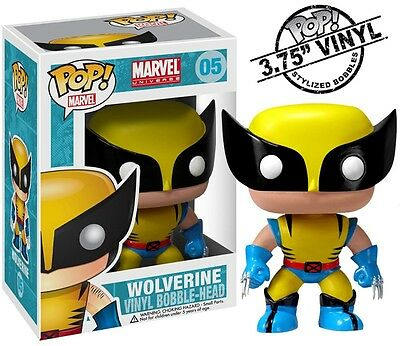 Wolverine Funko Pop! 05 Vinyl Figure Marvel Comics