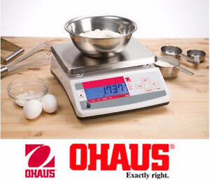 NEW - OHAUS Valor Compact Bench Scale M/N: V11P6 6kg/13lbs