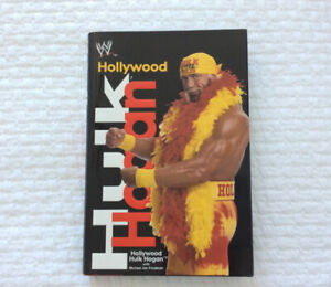 """Hollywood"" Hulk Hogan (WWE/WWF) Hardcover Book (2002)"