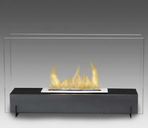 Beautiful Eco-feu fireplace for home or patio
