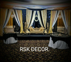 Wedding decor find or advertise wedding services in guelph rsk decor backdrops starting from only 500 act now junglespirit Choice Image