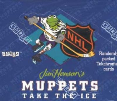 Muppets Take The Ice NHL Trading Card Box - Ice Trading