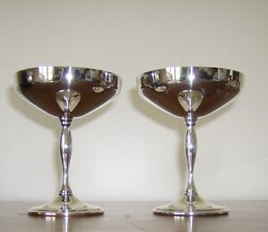 Vintage Silver Plate Champagne Coupes (1970s) Kingston Kingston Area image 3