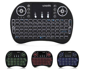 Back-Lit Mini Wireless Keyboard with Touch-pad Mouse