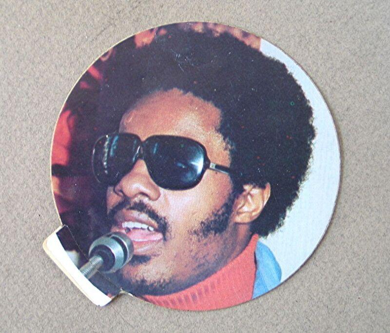 Vintage New Old Stock Stevie Wonder Sticker