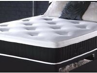 ONE YEAR GUARANTEE === Double DIvan Base With 1000 Pocket Sprung Mattress ''Get Your Order Today