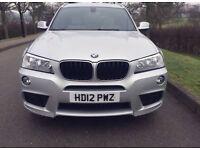 2012 BMW X3 xDrive20d M Sport Auto - Left Hand Drive LHD