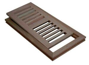 Hardwood vent covers, Flush Mount Wood Floor Air Vent Register, Grill, Vent cover, oak unfinished floor vents, wooden