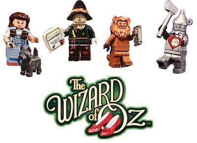 LEGO MOVIE 2 WIZARD OF OZ MINIFIGURES SET DOROTHY TIN MAN LION SCARECROW 71023