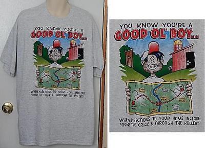 Good ol' Boy.. Funny Tees Men's Graphic Tee T-Shirt Size Choice M L XL XXL (Good Ol Boy T-shirt)