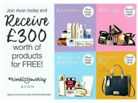 Become an Avon rep today!
