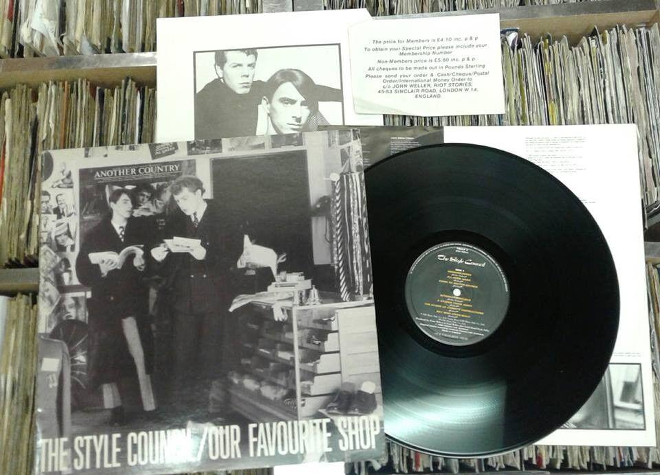 The Style Council – Our Favourite Shop, Vinyl, LP with a gatefold sleeve, Mods The Jam Weller Vinyl