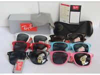 570 Rayban Sunglasses Wayfarer and Aviators Joblot Wholesale Only