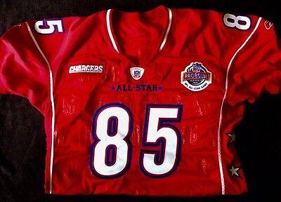 ANTONIO GATES #85 - Pro Bowl Game Jersey 2005