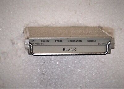 Hp Hewlett Packard 2804a Quartz Thermometer Blank Calibration Module 02804-60160