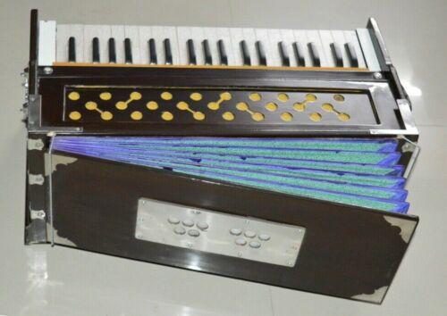 Harmonium 7 Stopper Chudidaar Double Bellow 39 Key 440Hz Long Sustain Sound