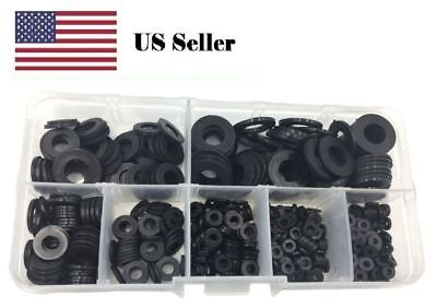 Plastic Washer Black Nylon Metric Kit Assorted