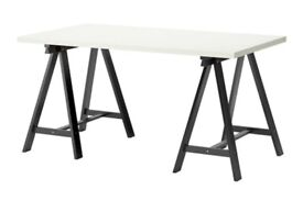 Ikea table top w legs 1.5m x 0.75m