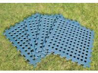 Foam interlocking matting