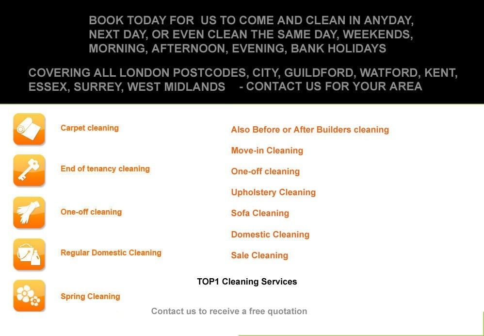 Special Offer Hrs End Of Tenancy Professional Cleaners Carpet
