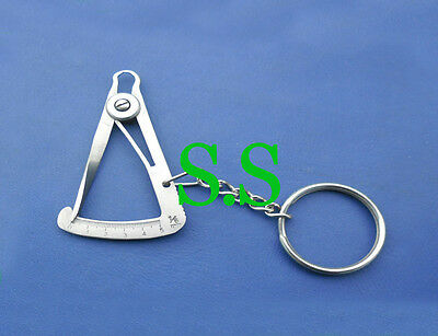 Iwanson Caliper Gauge Key Chain Dental Instruments S.s
