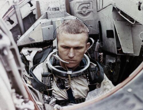 8x10 Print NASA Frank Borman Jr Gemini 7 1965 #16069