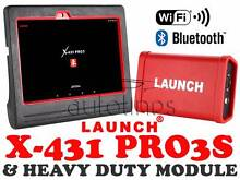 LAUNCH X431 PRO3S + HD Heavy Duty Truck Diagnostic 24V Diesel Rooty Hill Blacktown Area Preview
