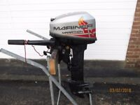 Mercury Mariner Marathon Outboard motor boat engine Fishing dory rib 2010 L/S