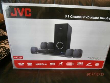 JVC TH-DN501 5.1 CHANNEL DVD HOME THEATRE SYSTEM NEW IN BOX