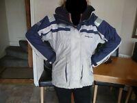 Womens Henri Lloyd Sailing/Fishing Jacket with hood - Size 3(UK size 12)