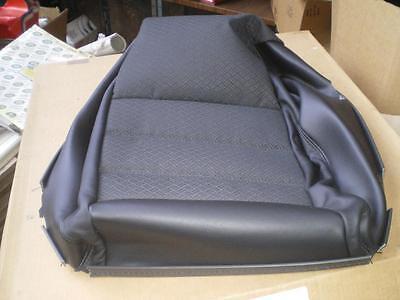Jaguar X-type RH front seat cushion cover Warm Charcoal Part no. C2S46261LEG