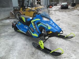 2018 Polaris Industries 800 Switchback® PRO-S ES Blue with lime