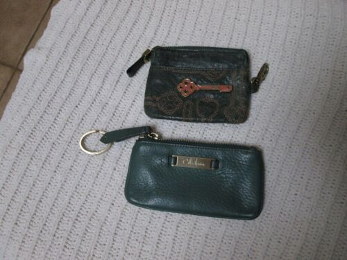 Fossil and Cole Haan Key pouches