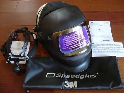 3m Speedglas 9100v Fx Darkening Welding Helmet Wside Windowshornell Speedglass