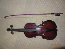 Ashton Purple Violin 1/2 size + violin stand GUMTREE MSG ONLY!! Tweed Heads Tweed Heads Area Preview