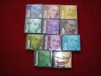 classical music cd disc bundles x 10
