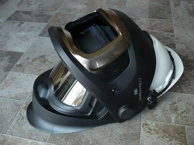 3m Speedglas 9100 Fx Helmet W Side-windows No Adf Filter Speedglass